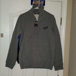 Undefeated Fleece zip jacket nwt